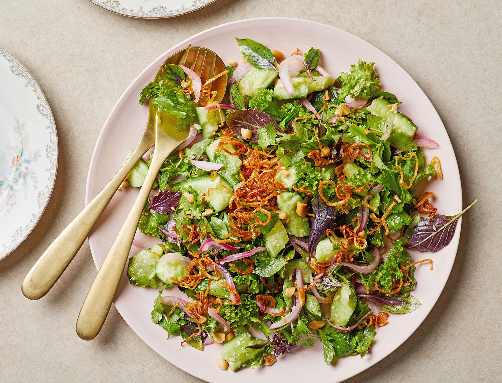 Thai Cucumber Tomato Salad
