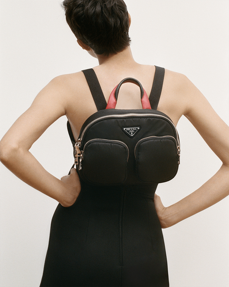 The Rise of the Nylon Cargo Bag Prada