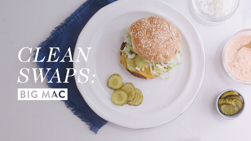 Clean Swap: The Big Mac Recipe