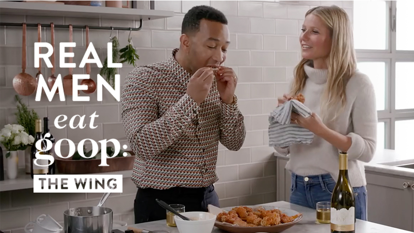 Real Men Eat goop: The Wing