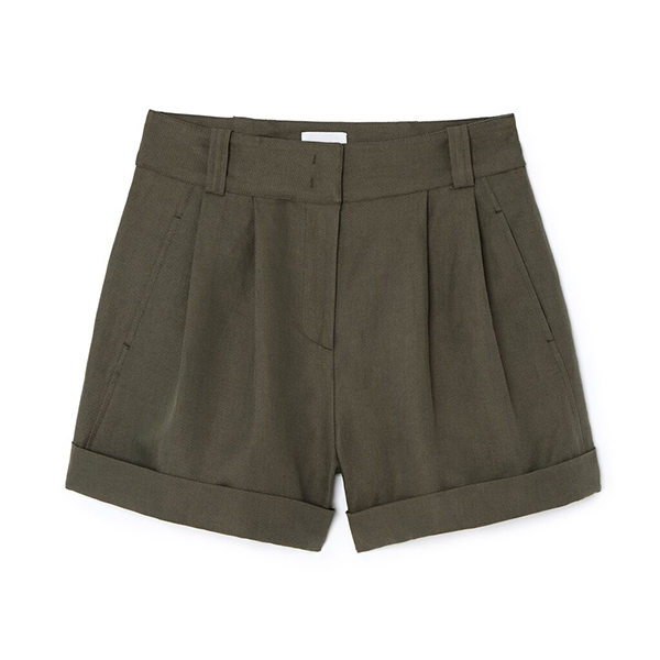 G. Label Marty High-Waisted Shorts