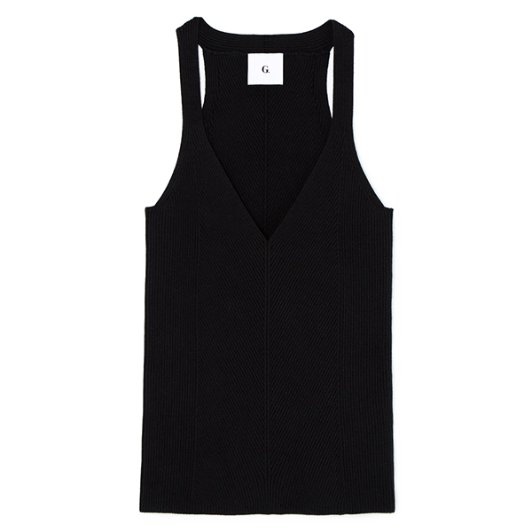 Samantha Engineered-Rib Tank