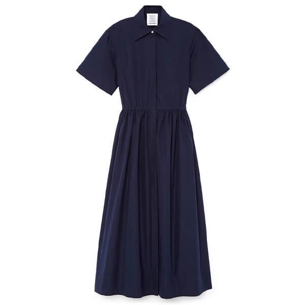 goop x Rosie Assoulin Cutout Shirtdress