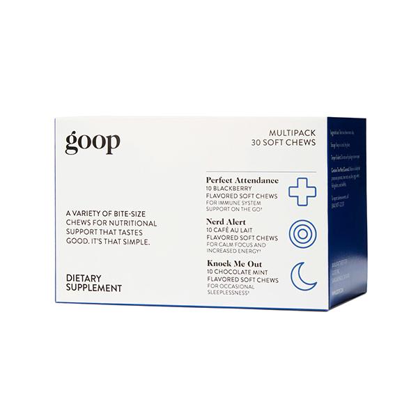 Goop Wellness variety pack