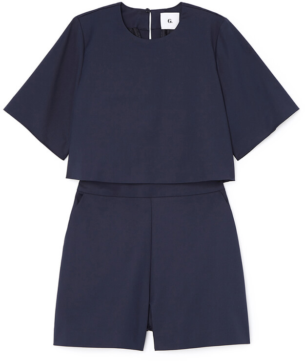 ALEXIS POP-TOP ROMPER