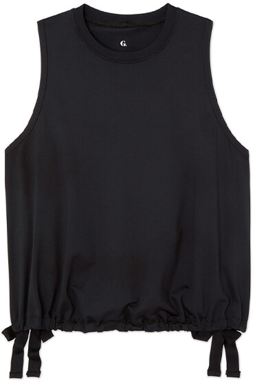 MESH TANK WITH SIDE SLITS