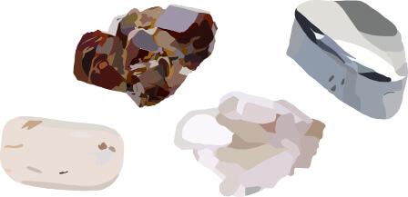 Microexfoliating minerals