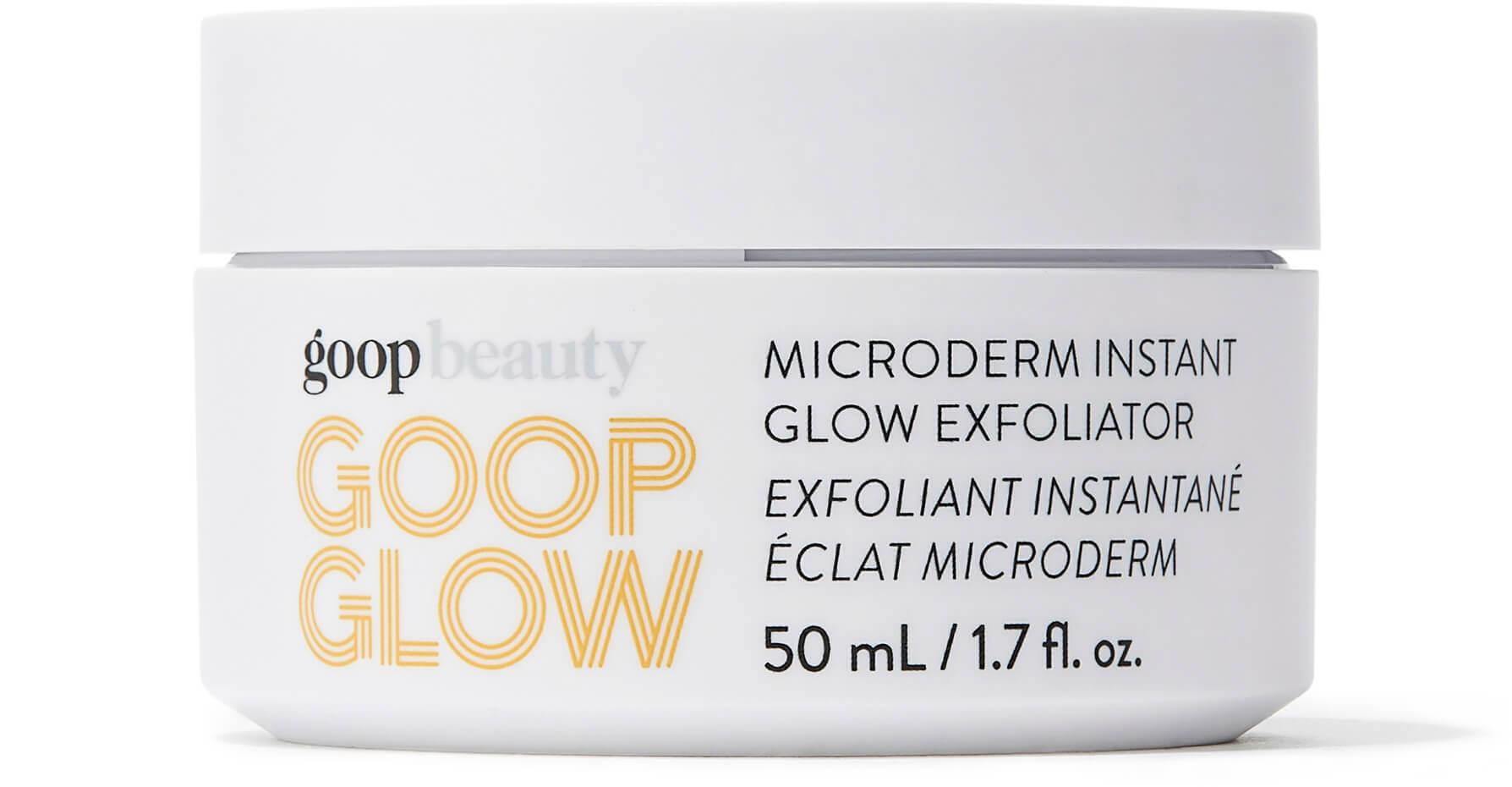 GOOPGLOW microderm instant glow exfoliator