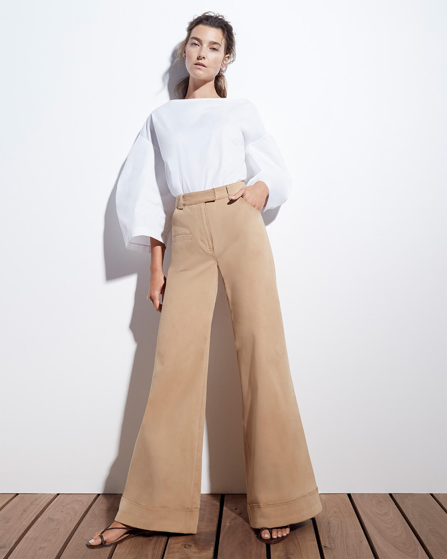 goop x Rosie Assoulin Wide-Leg Pants