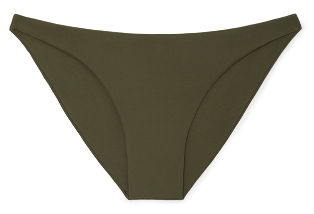 Low-Rise Bikini Briefs in Olive