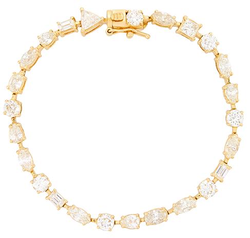 Shay Jewelry Mixed Diamond Buckle Ring