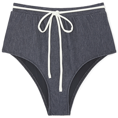 Solid & Striped Bottom