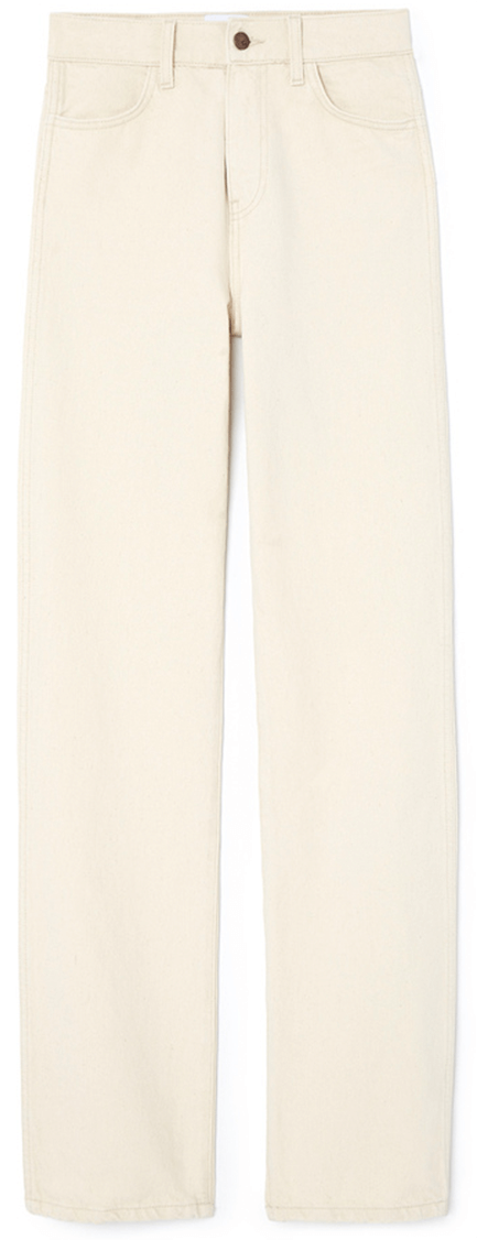 G. Label Janay Straight-Leg Jeans