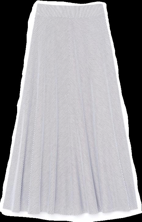 goop x Rosie Assoulin skirt