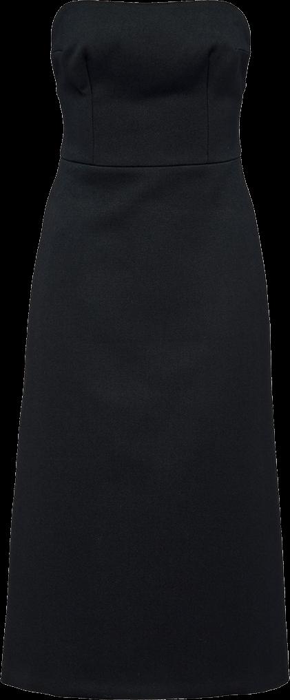 Prada Natté Garbardine Dress