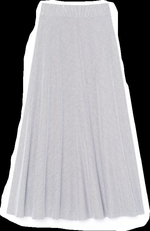 goop x Rosie Assoulin High Waisted Skirt