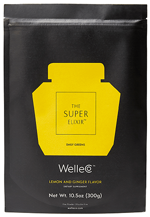 WelleCo The Super Elixir - Lemon & Ginger
