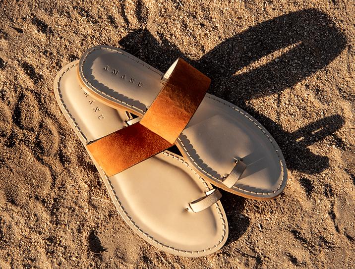 Amanu x Singita Sandals