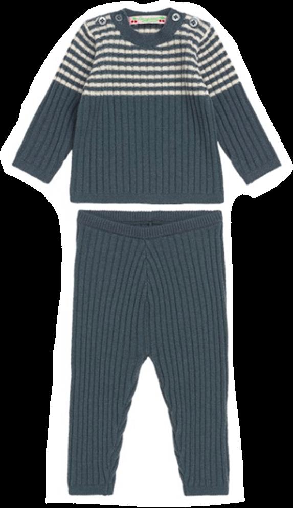 Bon Point Gray Blue Set