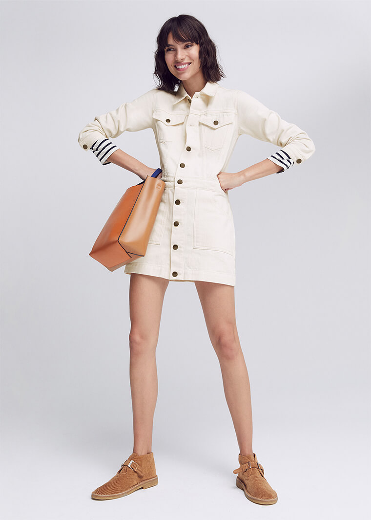 G. Label Bishop Jean Jacket Dress