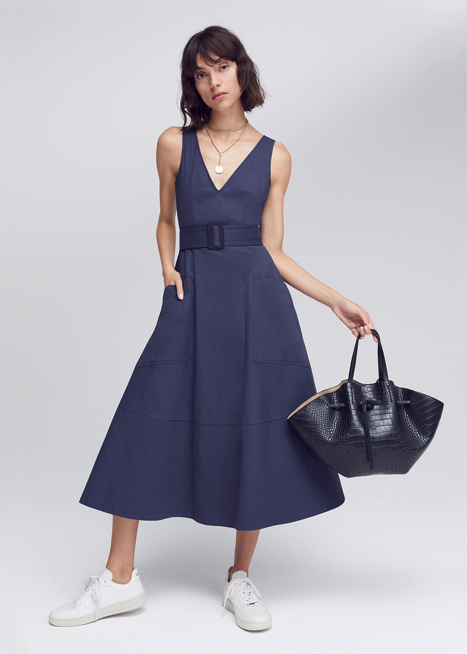 G. Label Lolo Belted Dress
