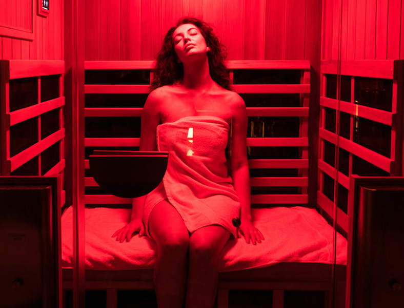 Detoxifying Infrared Sauna