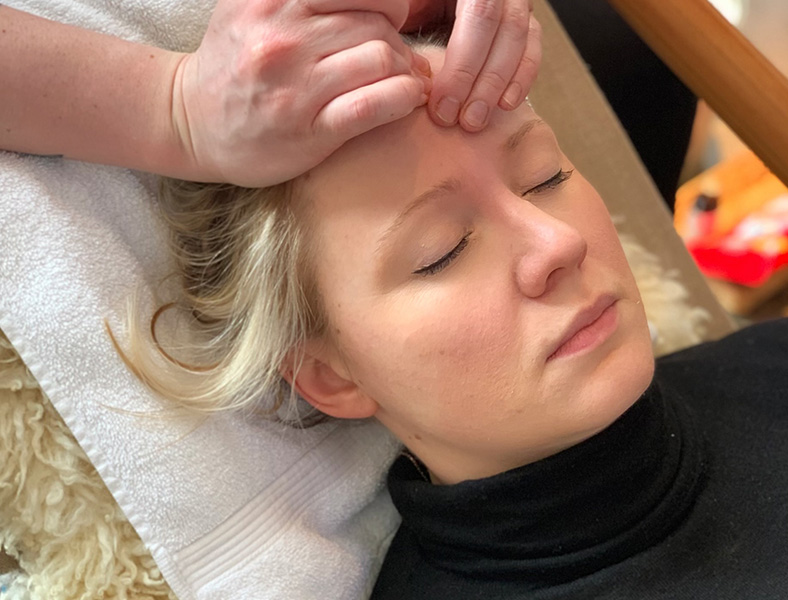 Massage—for Your Face