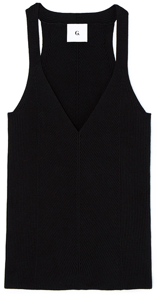 G. Label Samantha Engineered Rib Tank