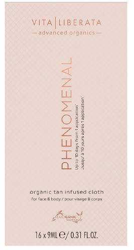 vita liberata PHENOMENAL ORGANIC TAN INFUSED CLOTHS
