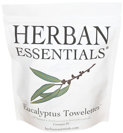 Herbal Essentials Eucalyptus Towelettes