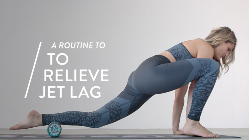 8 Foam Roller Moves to Relieve Jet Lag