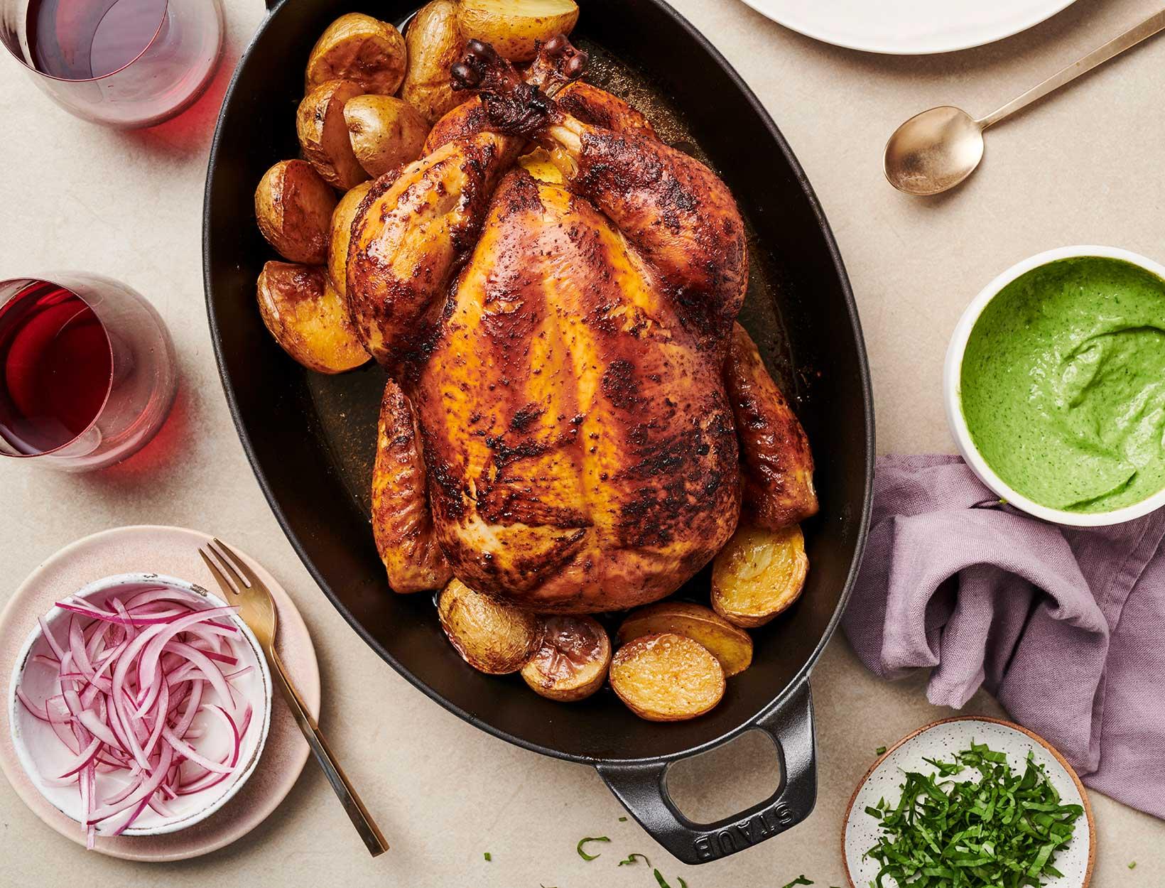 Peruvian-Style Roast Chicken