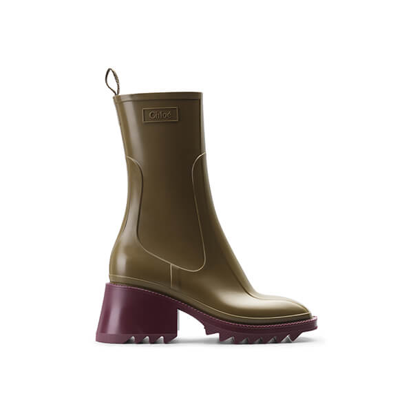 chloe rain boots