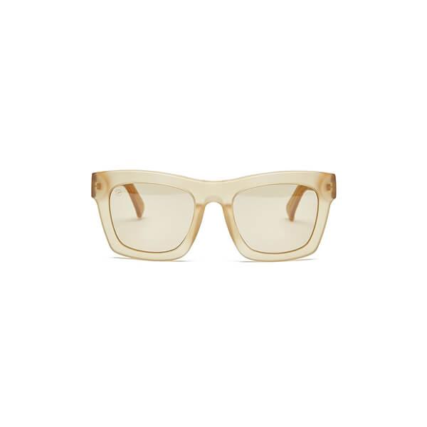 goop x electric crasher matte bronze sunglasses