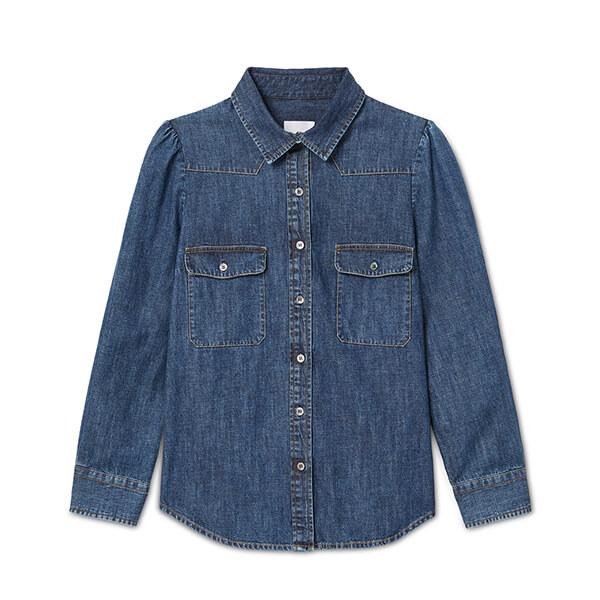 G. Label Elise denim shirt