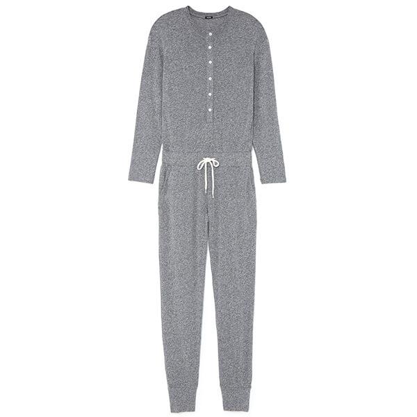 monrow henley jumpsuit