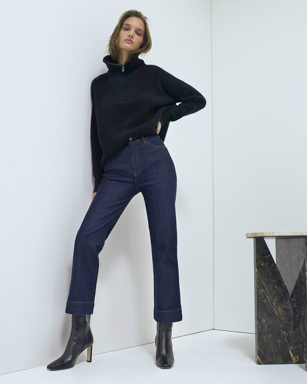 G. Label HIGH-CUFF TURTLENECK Sweater