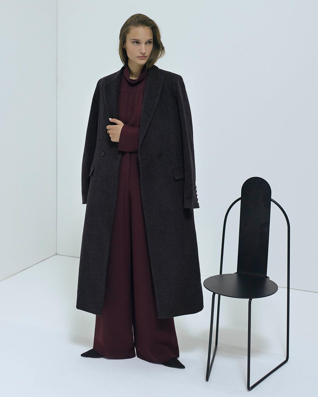 G. Label Maxi Coat