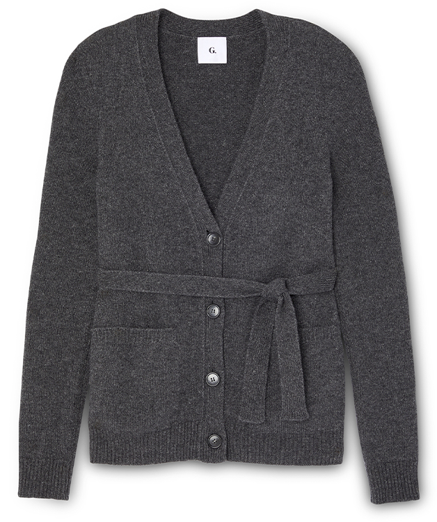 Jeanette Belted Cardigan