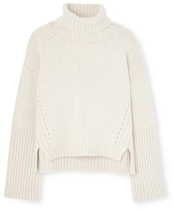 G. Label Yang High-Cuff Turtleneck Sweater