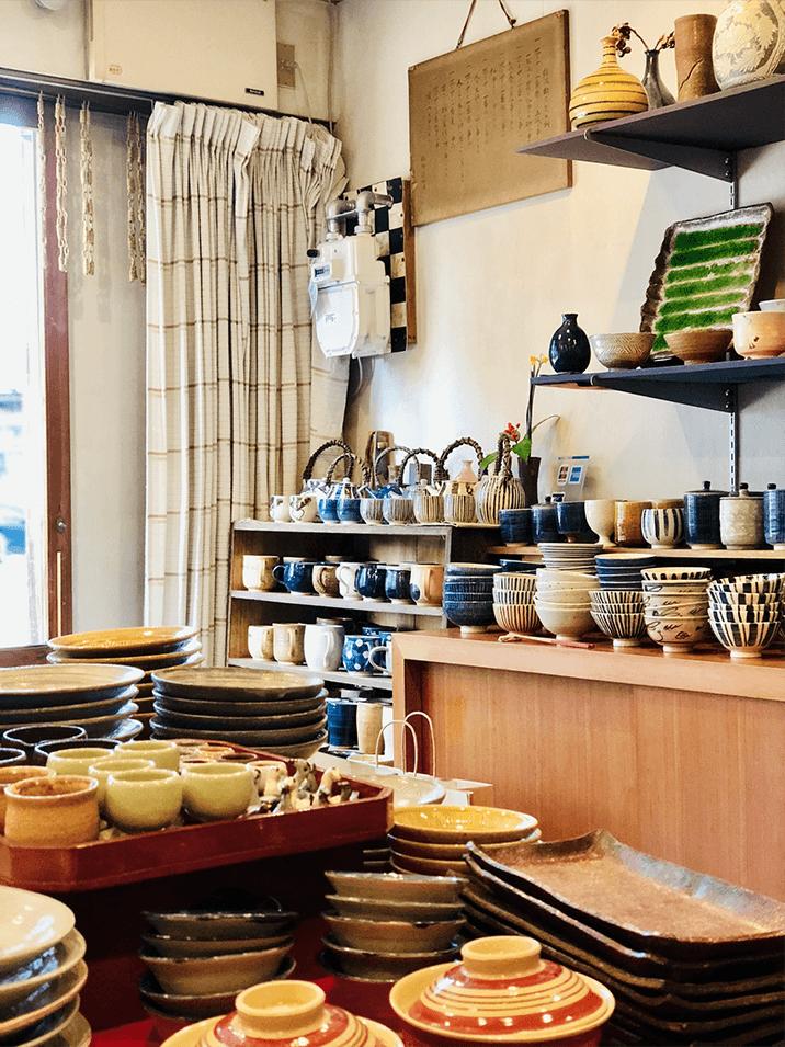 Ceramics Shops