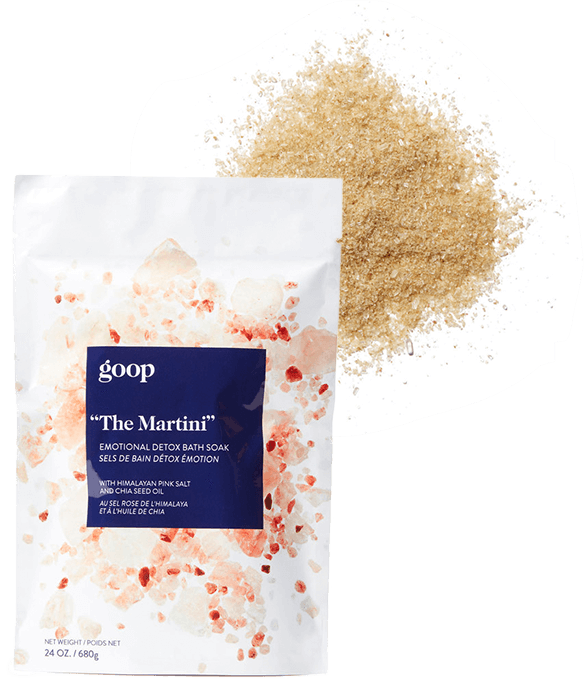 The Martini Emotional Detox Bath Soak