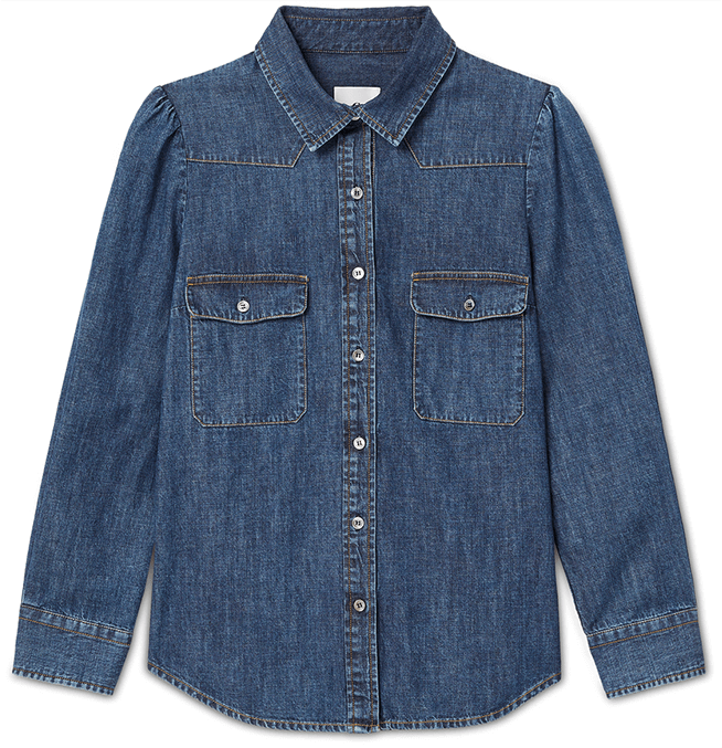 G. Label Elise Denim Shirt