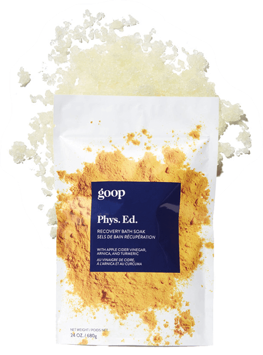 goop Beauty PHYS.ED. RECOVERY BATH SOAK