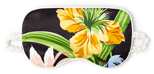 Olivia von Halle Tropicana Silk Eye Mask