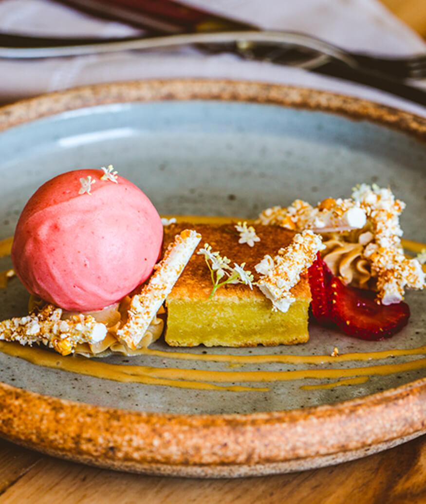 dessert at suerte