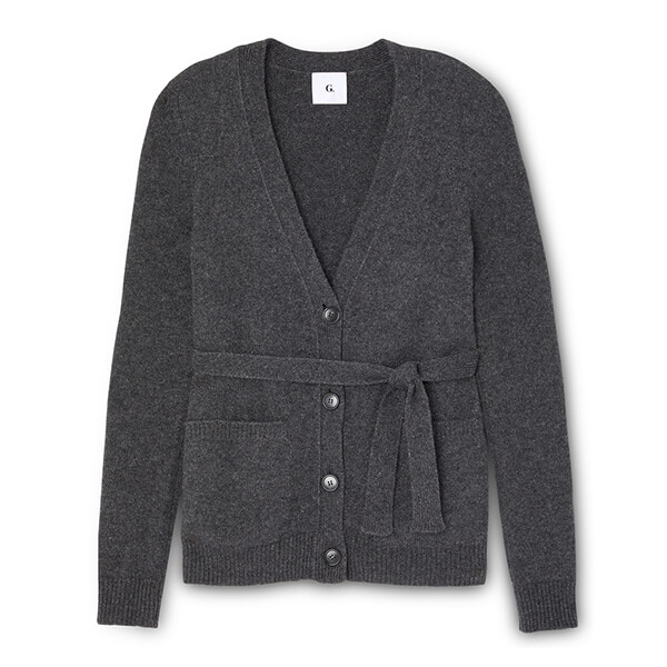 G. Label Jeanette Belted Cardigan