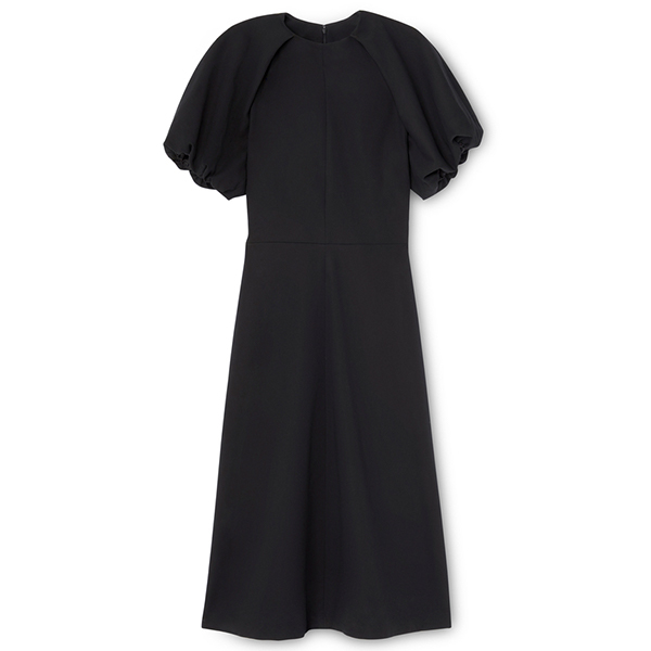 Claire Puff-Sleeve Dress