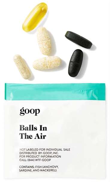 goop Wellness BALLS IN THE AIR