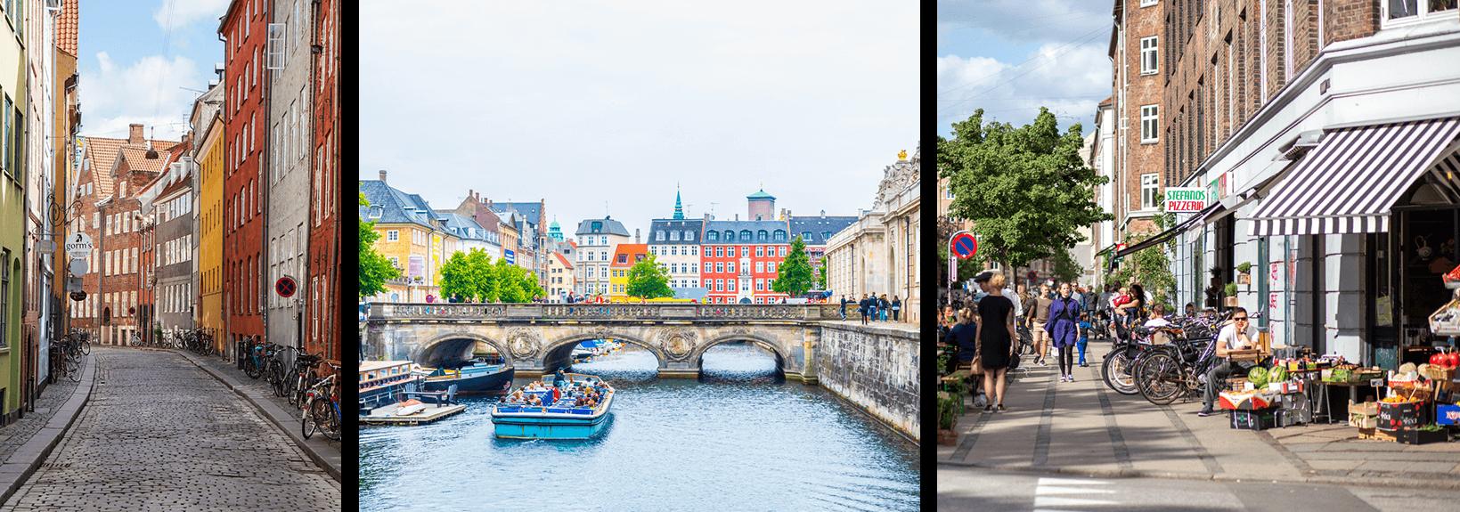 Copenhagen sightseeing locations
